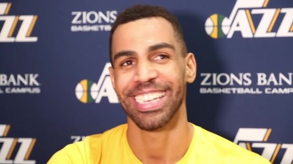 Thabo Sefolosha Shootaround Interview 11.22.17
