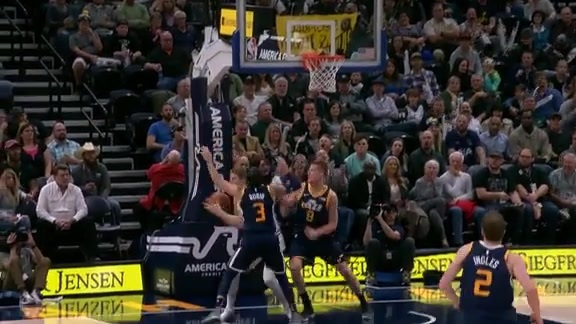 Highlights: Jazz 110, Bulls 80