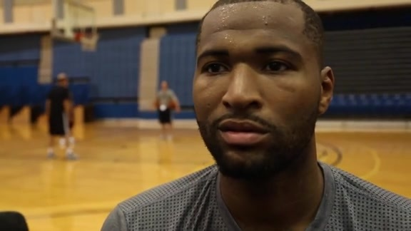 Training Camp Day 1 Reaction: DeMarcus Cousins