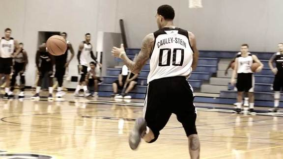 Training Camp: Cauley-Stein