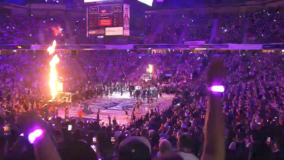 2015 Kings Home Opener Intro