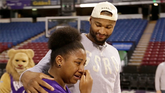 DeMarcus Surprises Family with New Car