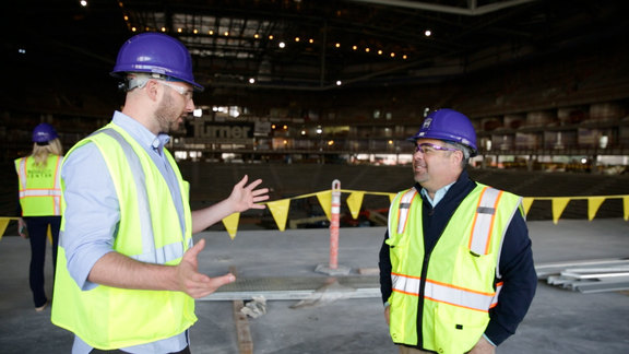 Golden 1 Center Tour