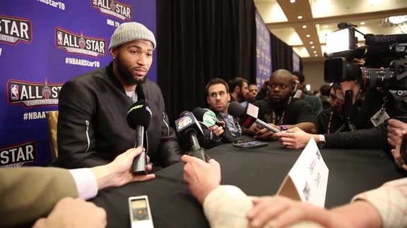 DeMarcus Cousins All-Star Media Availability