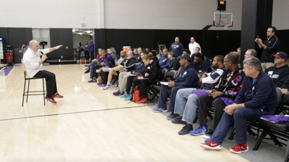 Kings NEXT Coaches Clinic 12/14/15