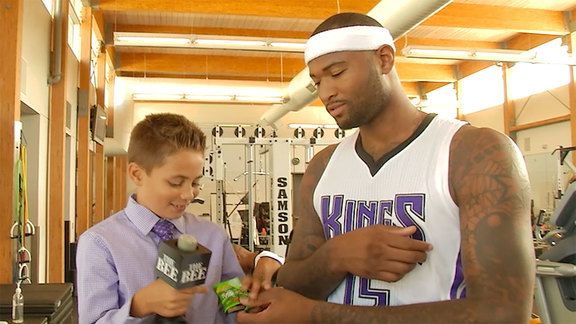 Kings Kid Reporter Bloopers