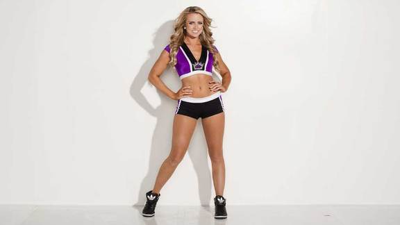 Kings Dancers Rookies: Kelsey