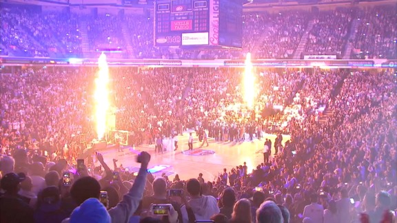 Sleep Train Arena Finale Intro