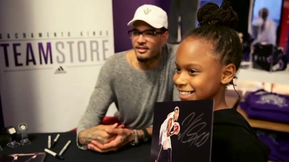 Willie Cauley-Stein Watch Launch
