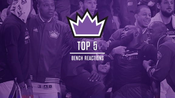 2015-16 Top 5: Bench Reactions