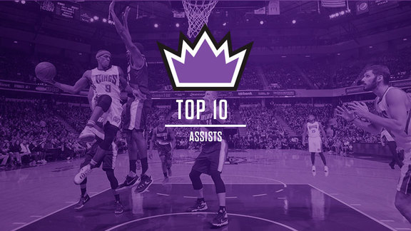 2015-16 Top 10: Assists