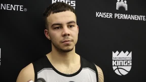 Gabe York Kings Pre-Draft Workout Interview 5/19/16