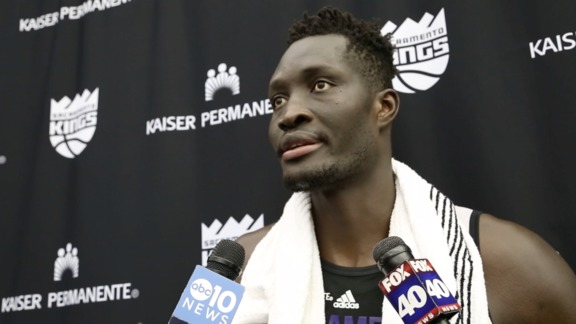 Mamadou Ndiaye Kings Pre-Draft Workout Interview 5/24/16