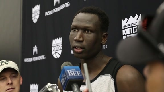 Emmanuel Malou Kings Pre-Draft Workout Interview 5/31/16