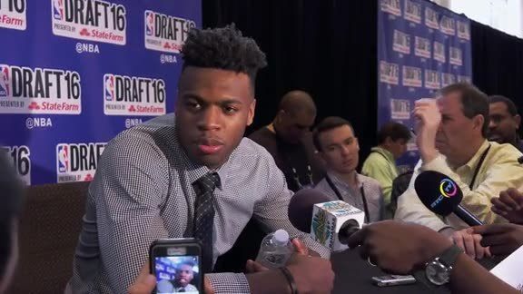 2016 Draft Media Availability: Buddy Hield