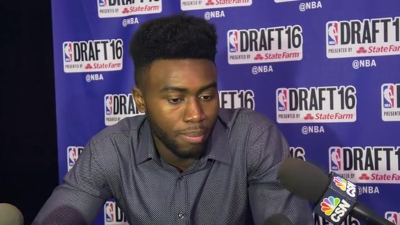 2016 Draft Media Availability: Jaylen Brown