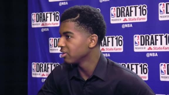 2016 Draft Media Availability: Marquese Chriss