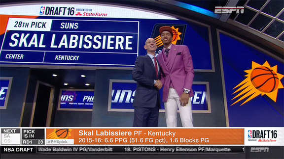 Kings Select Skal Labissière