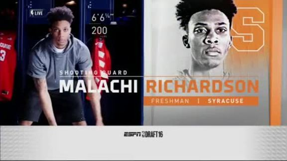 Kings Select Malachi Richardson