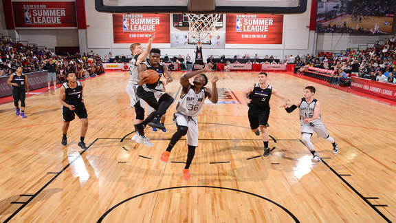 Kings vs Spurs Summer League Highlights