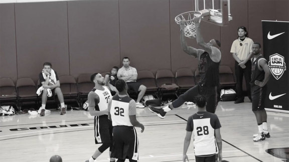DeMarcus Cousins: USABMNT Training Camp Day 2