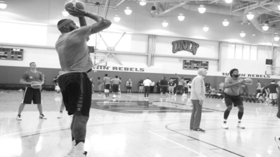 DeMarcus Cousins: USABMNT Training Camp Day 4