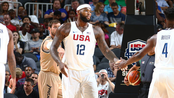 DeMarcus Cousins vs Argentina