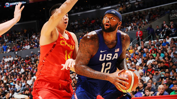 DeMarcus Cousins Highlights vs China