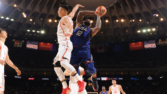 Cousins 21 points, 11 rebounds vs China