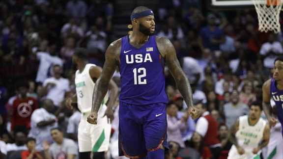 DeMarcus Cousins Highlights vs Nigeria