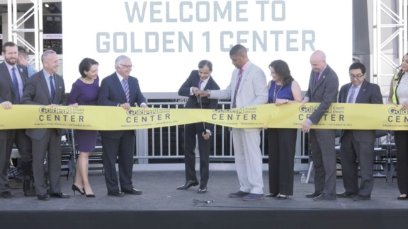 Golden 1 Center Ribbon Cutting