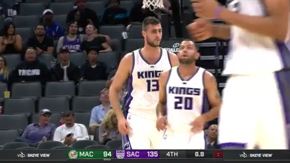 Kings vs Maccabi Haifa Preseason Highlights