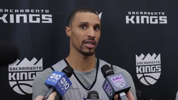 Training Camp: George Hill 10/16/17
