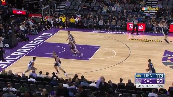 Kings vs Nuggets 11/20/17 Highlights