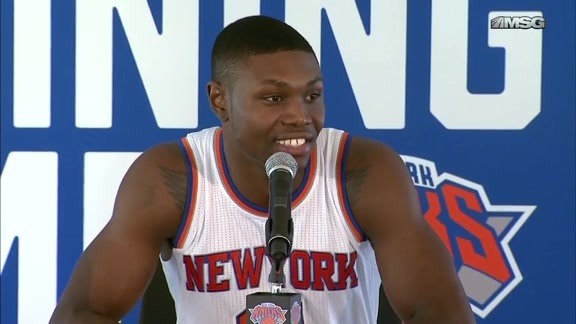 Knicks Media Day 2015: Cleanthony Early