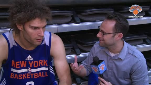 1-on-1 with Robin Lopez: Knicks Defense and Progress At Camp