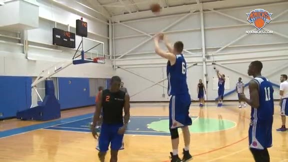 TUES Training Camp: Practice Highlights