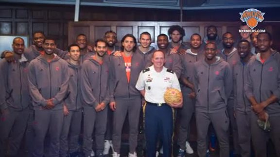All-Access: Behind The Scenes With Knicks At West Point
