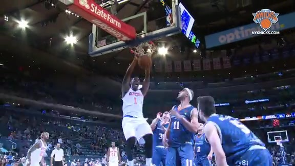 NYK vs Bauru Postgame: Courtside Highlights