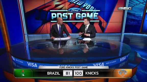 NYK vs Bauru Postgame: MSG Network Highlights and Analysis
