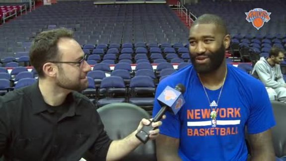 NYK @ WAS Scouting Report: Kyle O'Quinn Previews Halloween Matchup