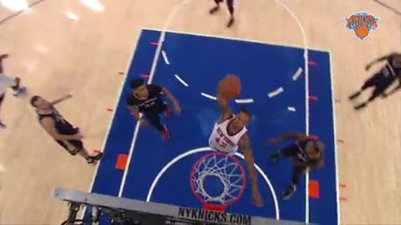 Top 5 Plays of the Week: Melo's Block and Trey, Amundson's Swat, and Thomas' Jam