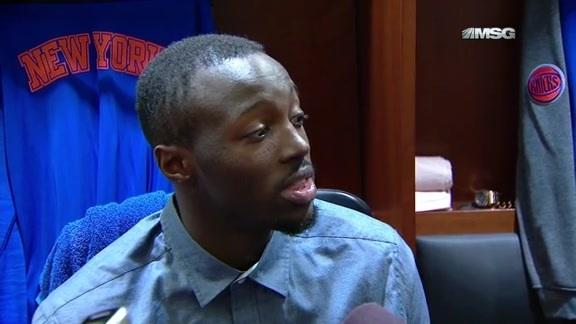 NYK vs MIA Postgame: Inside The Knicks Locker Room