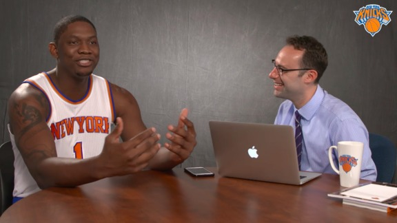 Speed Drills with Kevin Seraphin: Arm Wrestling Fisher, Pet Monkey, Aliens, and More!