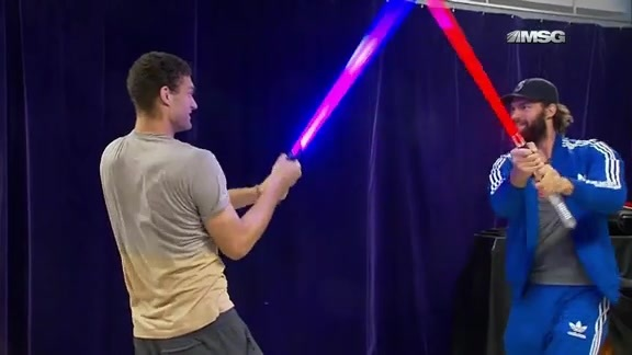 Feature: Lightsaber Training With The Lopez Bros