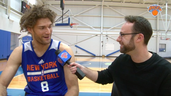 1-on-1 with Robin Lopez: Previewing Star Wars and Chewbacca Impersonation
