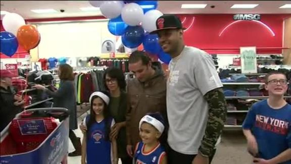 Knicks and Garden of Dreams Holiday Shopping Spree