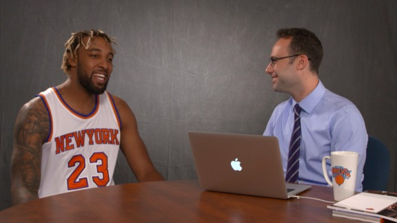 Speed Drills with Derrick Williams: Most Intimidating Knick, Hairstyle Choices, and Who He Wants To Dunk On