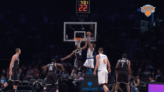 NYK @ BKN Postgame: Courtside View Highlights