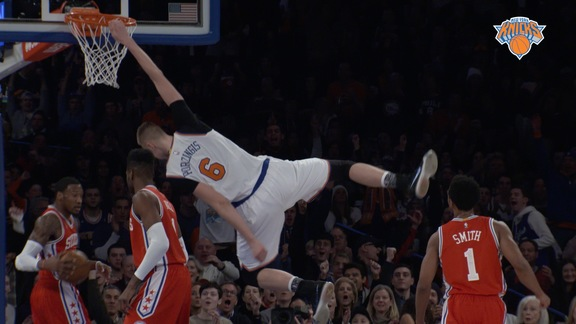 NYK vs PHI Postgame: Courtside View Highlights
